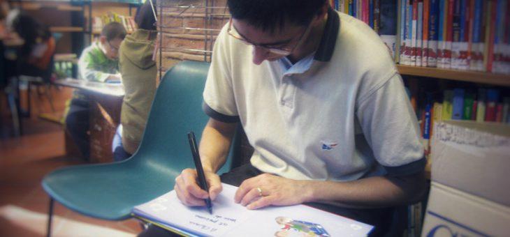 Cedrina alla biblioteca di Castenaso